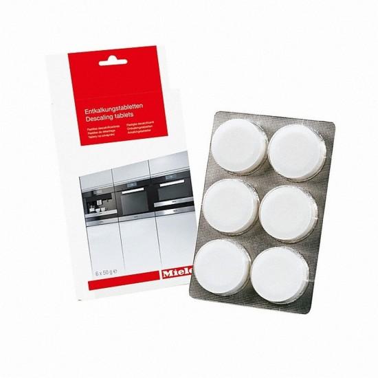 Miele Entkalkungstabletten für Backöfen sowie Herde mit Klimagaren, Kaffeevollautomaten und Dampfgarer CVPET-29996911EU1-31