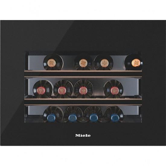 Miele Einbau-Weinlagerschrank KWT 6112 iG Obsidianschwarz Glas-36611201EU1-31