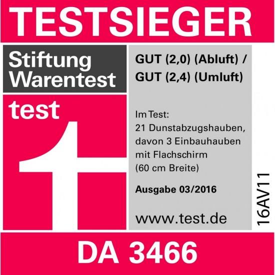 Miele Dunstabzugshaube DA 3466-60 EXT Edelstahl-28346656D-32