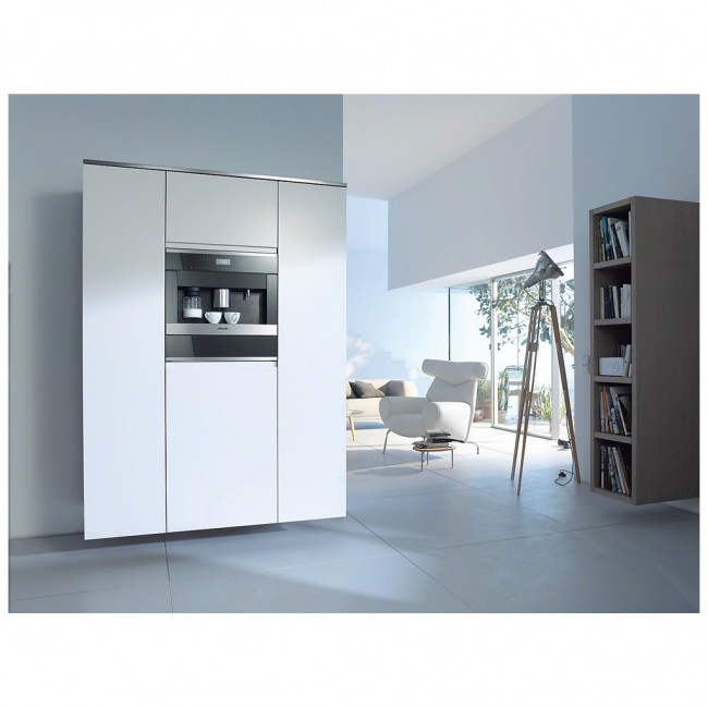 miele kaffeevollautomat cva 6405 edelstahl 29640550 online kaufen. Black Bedroom Furniture Sets. Home Design Ideas