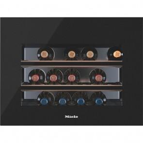 Miele Einbau-Weinlagerschrank KWT 6112 iG Obsidianschwarz Glas-36611201EU1-20