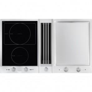 Miele Combiset 1x Induktion 1x Grillfläche mit Tischlüfter CSDA 1020-27102050D-20