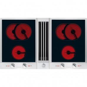 Miele Combiset 2 x 2 Kochzonen inkl. 2 x Bräterzonen mit Tischlüfter CSDA 1040-27104050D-20