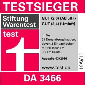 Miele Dunstabzugshaube DA 3466-60 EXT Edelstahl-28346656D-20