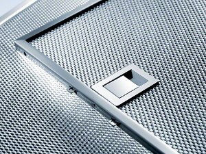 Edelstahl-Metallfettfilter